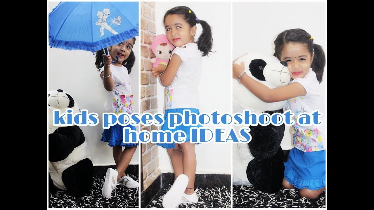 Indoor Photo Poses For Kids Posing Idea Photoshoot Ideas At Home Little Naksha Youtube