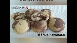 MARBLE COOKIES RECIPE