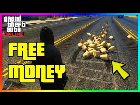 GTA 5 Online - FREE MONEY, FIRST $250K CASH DROP GIVE AWAY!!! (GTA V)