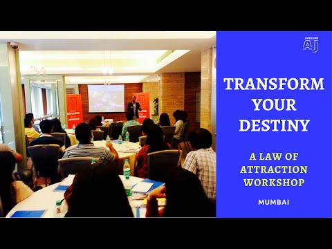 TRANSFORM YOUR DESTINY (Mumbai) | India's Best Law of Attraction Workshop