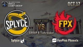 FPX vs SPY | GROUP STAGE Day 5 H/L 10.17 | 2019 Worlds Championship