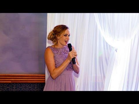 Matron of Honour Sings Taylor Swift's -