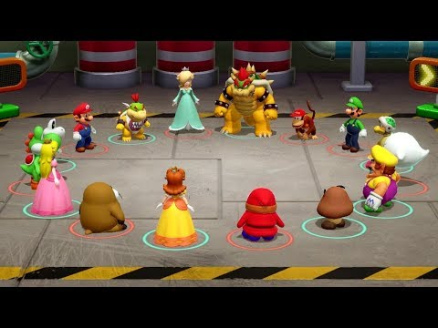 Super Mario Party - All Lucky Minigames