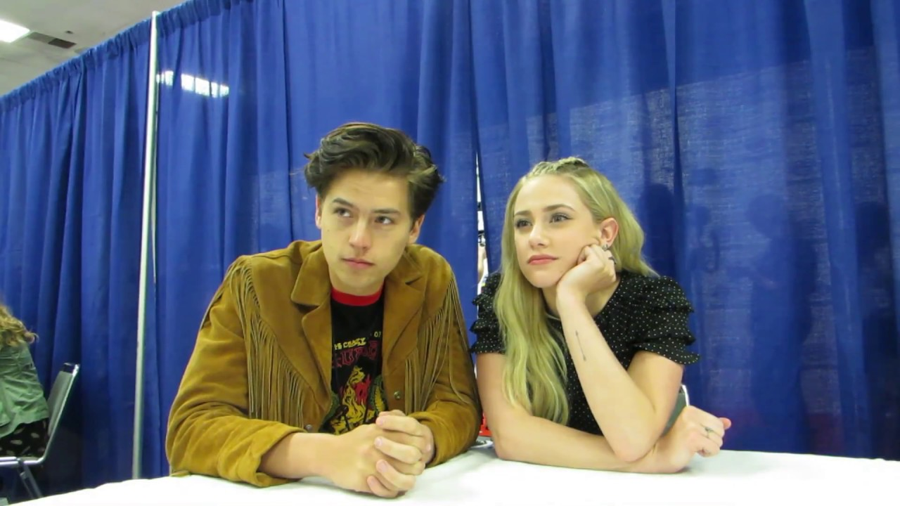 WonderCon 2017 - Riverdale - TEASE of Cole Sprouse & Lili Reinhart interview  - YouTube
