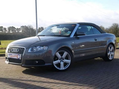2008 audi a4 s line 2 0tdi cabriolet auto for sale in. Black Bedroom Furniture Sets. Home Design Ideas