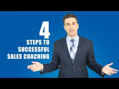 4 Steps to Successful Sales Coaching