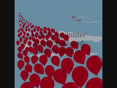 99 Red Balloons - Goldfinger lyrics video