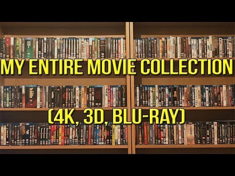 My Entire Movie Collection 2017 | 4K, 3D, BLU-RAY | Bluraymadness