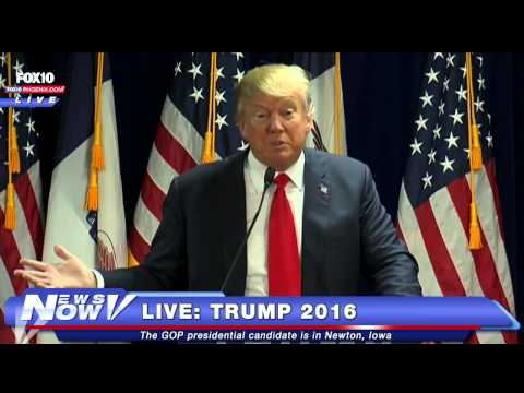 FNN: FULL Donald Trump Rally Newton, Iowa