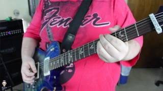 If I Was The King-Steel Panther(Guitar Cover)