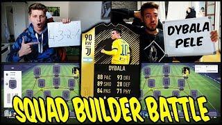 90 INFORM DYBALA Squad Builder Battle vs. WAKEZ! 🔥🔥 Fifa 18 Ultimate team Deutsch
