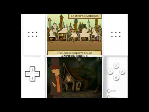 Professor Layton and the Unwound Future Walkthrough - Part 56: The Puzzle Keeper's House