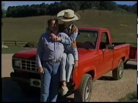 2016 Jeep Truck >> President Reagan at Rancho Del Cielo near Santa Barbara ...