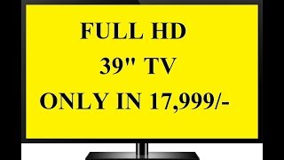 TCL L39D2900 39 inch LED Full HD TV REVIEW | BELOW 20K FULL HD TV | expert opinion