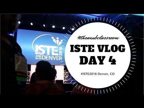 ISTE Vlog Day 4: The Anub Classroom