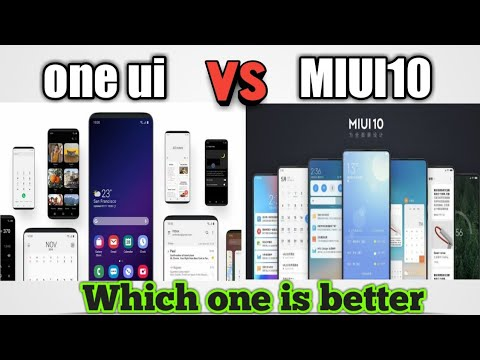 MIUI 10 Global / Samsung One UI Quick look | which one is best ? | Samsung  | Xiaomi