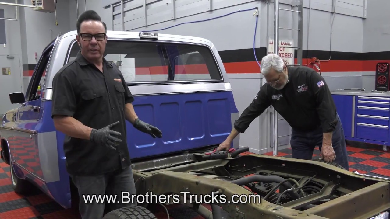 Installing A Flip Kit C Notch Leaf Spring Axle Youtube Wiring Diagram Together With 1952 Ford F1 Pickup Truck Sale On Brothers Parts