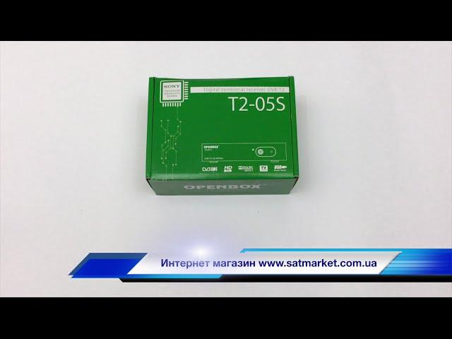 Видео обзор OPENBOX T2-05S HD
