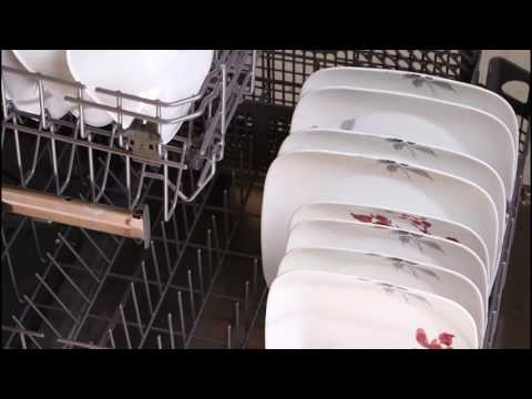 דגם Kyoto Leaves מסדרת SQUARE, צלחות קורל מבית קורנינג