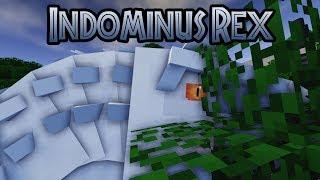 Minecraft Jurassic World: Indominus Rex Scene