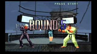 King of Fighters 2002 - XBOX Gameplay with KKK (K