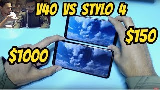 LG Stylo 4 Vs LG V40 ThinQ REVIEW Tests Spec Comparison