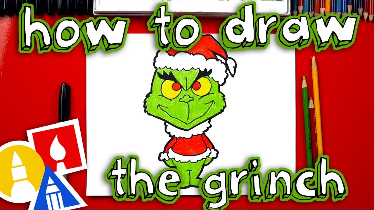 How To Draw The Grinch Youtube