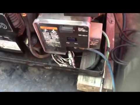 Onan marquis 7000 generator - YouTube