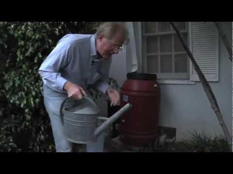 Ed Begley, Jr. Energy Efficiency Tips: Rain Water