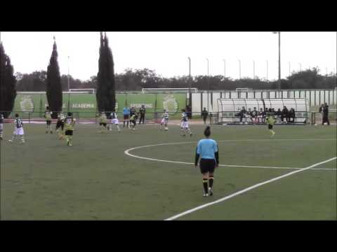 Sporting 10-1 Amavita,FUT9, AF Lisboa, época 2015-16, Infantis.