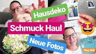 Deko & Vorfreude aufs Haus l Lieblingsgericht kochen l Aussortieren l Vlog 668