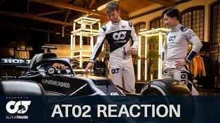 Pierre Gasly & Yuki Tsunoda React to the AT02