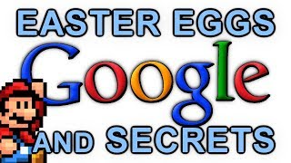 GOOGLE Easter Eggs, Secrets And Tricks #1