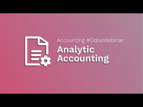 Accounting #OdooWebinar: Analytic Accounting