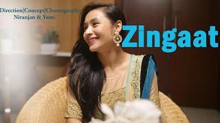 Zingaat | Dhadak | Dance Choreography | Niranjan & Yumi