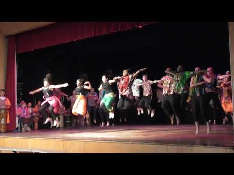 Class of 2018 African Dance