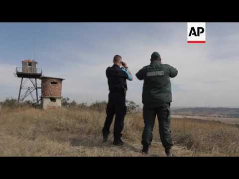 EU patrols Turkey-Bulgaria border