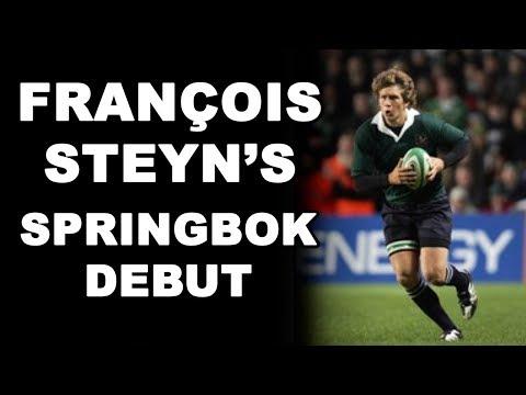 François Steyn's Springbok Debut