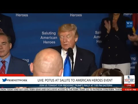 FULL SPEECH: President Trump at the Salute to American Heroes Event in Struthers, OH 7/25/17