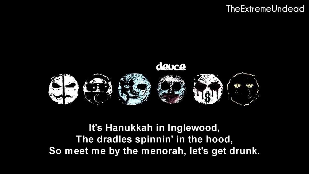 HOLLYWOOD UNDEAD LYRICS - Christmas In Hollywood