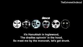 Repeat youtube video Hollywood Undead - Christmas in Hollywood [Lyrics Video]