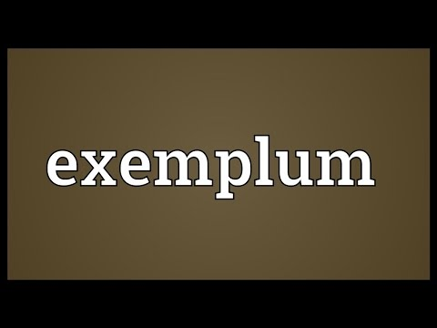 Header of exemplum