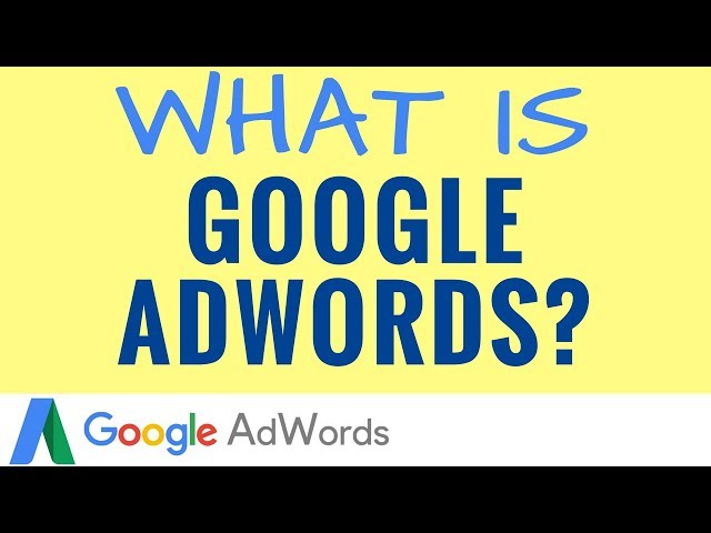 Google AdWords   كورس