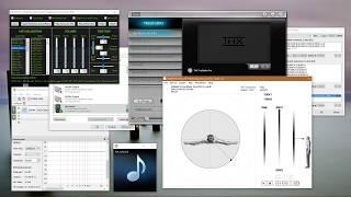виртуальный объемный звук 5.1 - 7.1 в любых наушниках!