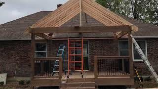 Covered Porch Build