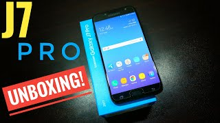 Samsung Galaxy J7 Pro Unboxing and impressions!