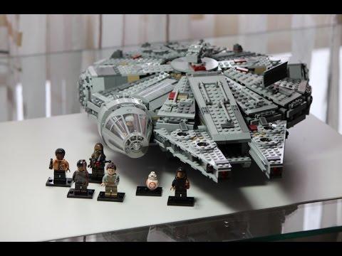 LEGO Star Wars Set 75105 Millennium Falcon Review deutsch german