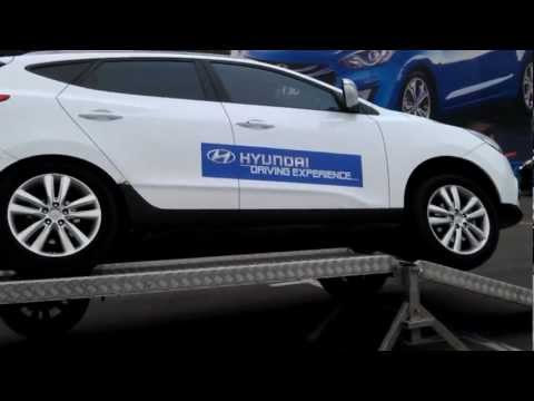 Hyundai ix35 Test Motorshow 4x4