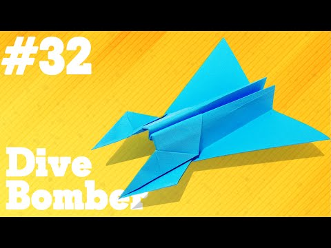 How To Make A Paper Airplane That Flies Simple Origami Paper