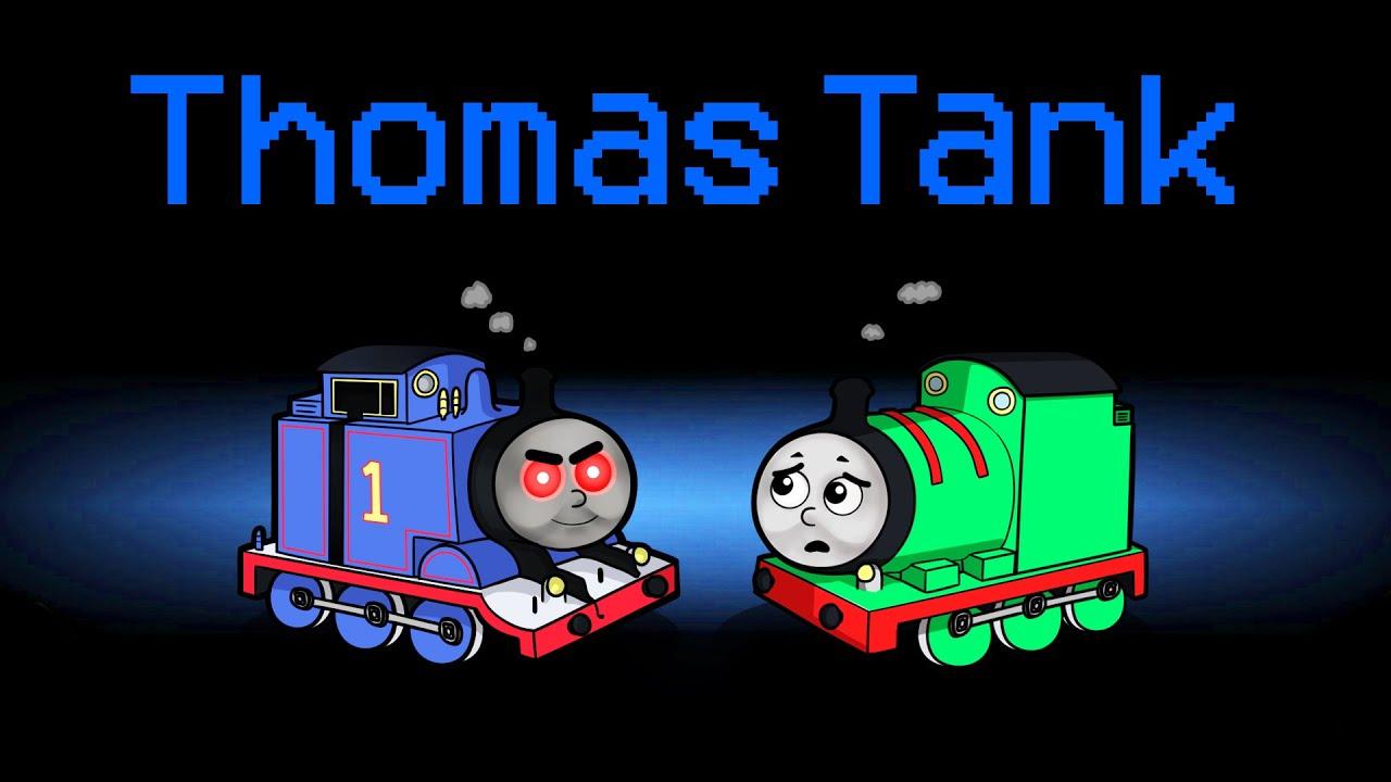 THOMAS THE TANK ENGINE Mod in Among Us! (Evil Thomas)